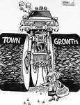 Steve Nease Editorial Cartoons: Oakville Town Growth