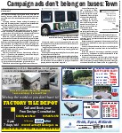 Campaign ads don't belong on buses: Town