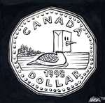 Steve Nease Editorial Cartoons: Canadian Dollar