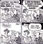 Steve Nease Editorial Cartoons: Royal Family Gossip
