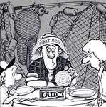 Steve Nease Editorial Cartoons: Maritime Aid