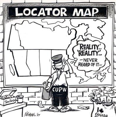 Steve Nease Editorial Cartoons: Reality Locator