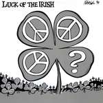 Steve Nease Editorial Cartoons: Luck of the Irish