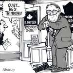 Steve Nease Editorial Cartoons: Ken Dryden Thinking