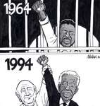 Steve Nease Editorial Cartoons: Nelson Mandela