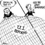 Steve Nease Editorial Cartoons: U.I. Reforms
