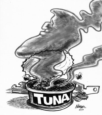 Steve Nease Editorial Cartoons: Canned Fish