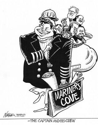 Steve Nease Editorial Cartoons: Mariner's Cove