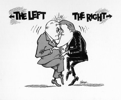Steve Nease Editorial Cartoons: The Left or The Right?