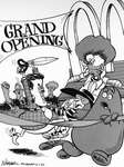 Steve Nease Editorial Cartoons: McDonald's Opening