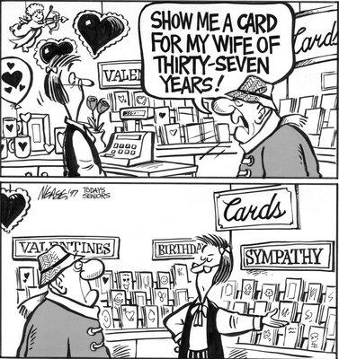 Steve Nease Editorial Cartoons: Sympathy Cards
