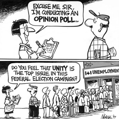 Steve Nease Editorial Cartoons: Opinion Poll