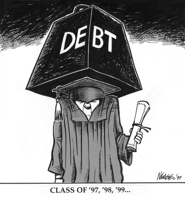 Steve Nease Editorial Cartoons: Student Debt