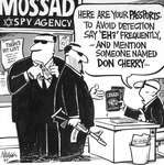 Steve Nease Editorial Cartoons: Mossad Spies