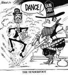 Steve Nease Editorial Cartoons: The Tenderfoot