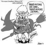 "Steve Nease Editorial Cartoons: ""Ottawa is OZ"""