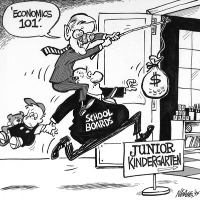 "Steve Nease Editorial Cartoons: ""Economics 101"""