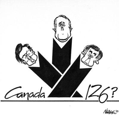 Steve Nease Editorial Cartoons: Canada 126?