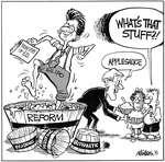 Steve Nease Editorial Cartoons: Applesauce?