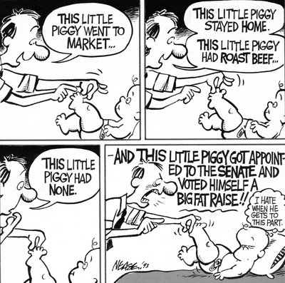 Steve Nease Editorial Cartoons: This Little Piggy Got Appointed to the Senate