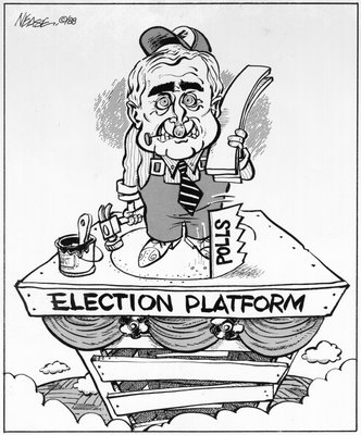 Steve Nease Editorial Cartoons: Election Platform