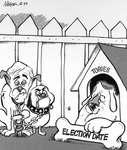 Steve Nease Editorial Cartoons: Election Date