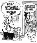 Steve Nease Editorial Cartoons: Car Insurance Bill