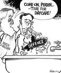 Steve Nease Editorial Cartoons: Time for Daycare Perrin