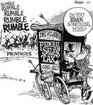 Steve Nease Editorial Cartoons: Wilson's Federal Sales Tax