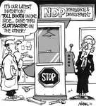 Steve Nease Editorial Cartoons: Toll Booth Slot Machine