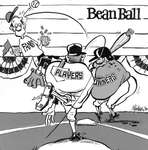 Steve Nease Editorial Cartoons: Bean Ball