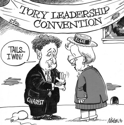 Steve Nease Editorial Cartoons: Tory Leadership Convention