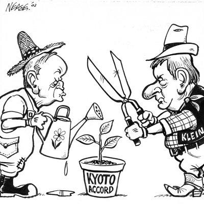 Steve Nease Editorial Cartoons: Kyoto Accord