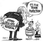 Steve Nease Editorial Cartoons: It's for your protection