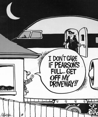 Steve Nease Editorial Cartoons: Get off my driveway!