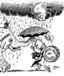 Steve Nease Editorial Cartoons: Meech Lake Accord Parade