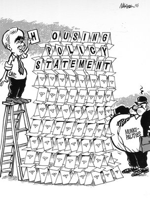 Steve Nease Editorial Cartoons: Housing Policy Statements