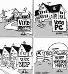 Steve Nease Editorial Cartoons: Vote Freedom Party!