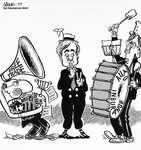 Steve Nease Editorial Cartoons: Free Trade Noise