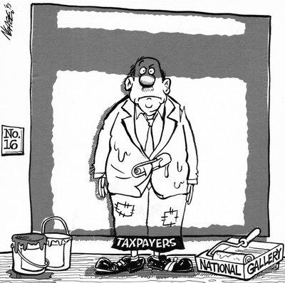 Steve Nease Editorial Cartoons: Rothko vs The Canadian Taxpayer