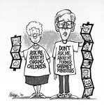 Steve Nease Editorial Cartoons: Don't ask me about my former cabinet ministers