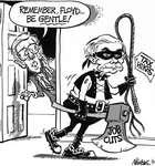 Steve Nease Editorial Cartoons: Remember Floyd, Be Gentle!