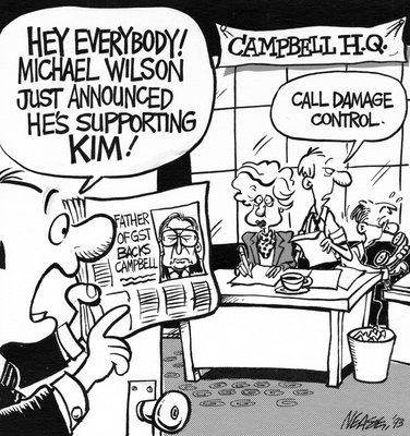 Steve Nease Editorial Cartoons: Damage Control at Campbell's HQ