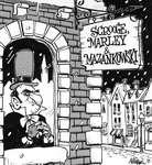 Steve Nease Editorial Cartoons: Scrooge, Marley, & Mazankowski