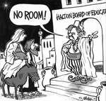 Steve Nease Editorial Cartoons: No room at the Halton Board of Education