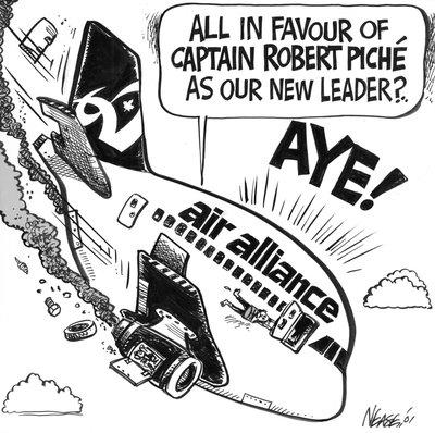 Steve Nease Editorial Cartoons: Captain Robert Piche