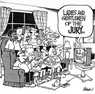 Steve Nease Editorial Cartoons: Ladies & Gentleman of the Jury . . .