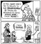 Steve Nease Editorial Cartoons: Grandpa's Fashion