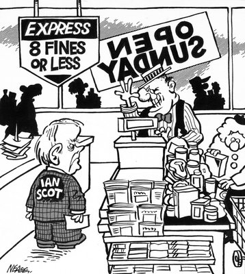Steve Nease Editorial Cartoons: 8 Fines or Less