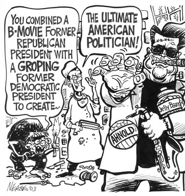 Steve Neas Editorial Cartoons: The Ultimate American Politician